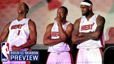 Three Kings Dwyane Wade, LeBron James, Chris Bosh Seeking Crown in South Beach