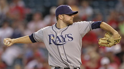 Tampa Bay Activates Wade Davis Just in Time for Start Against Angels