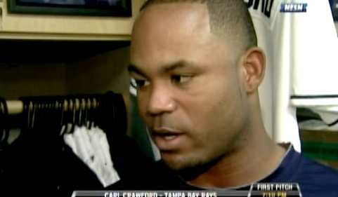 Carl Crawford Believes 2010 Rays Better Than 2008 AL Championship Team