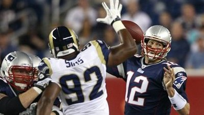 Patriots' Early Possessions Against Rams Showed Some Lack of Fluidity
