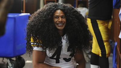 Procter and Gamble Insures Troy Polamalu's Hair for $1 Million