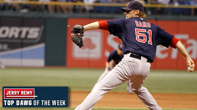 Jerry Remy, Red Sox Fans Agree on Daniel Bard as Top Dawg of the Week