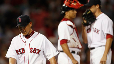 Daisuke Matsuzaka Can't Hold Lead, David Price Shuts Down Red Sox in 14-5 Rout