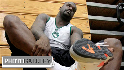 Shaquille O'Neal, Celtics Get to Work at First Day of Training Camp