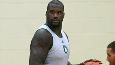Shaquille O'Neal Impressed With Paul Pierce, Ray Allen at First Day of Practice