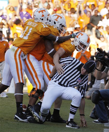 Controversial Ending for LSU-Tennessee Game Caps Long Day for SEC Officials