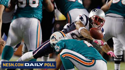 Which Player Was Most Impressive in Patriots' Monday Night Win Over Dolphins?