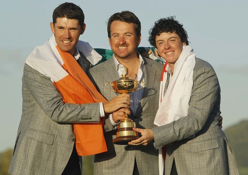 Rory McIlroy Takes Jägermeister Shots From Ryder Cup, Tiger Woods Dominates in Ping Pong