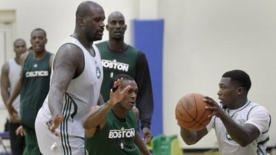 Kevin Garnett, Celtics Ready to Use Preseason to Gear Up for 'Big Race' of Regular Season