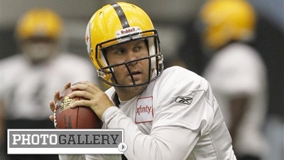 Ben Roethlisberger Returns to Steelers Practice After Serving Four-Game Suspension