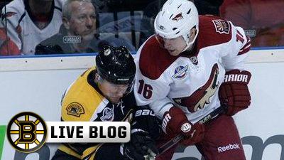 Tyler Seguin Scores His First NHL Goal, Tim Thomas Earns Shutout as Bruins Beat Phoenix