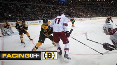 Bruins Get Shot at Redemption Against Coyotes in Prague Finale