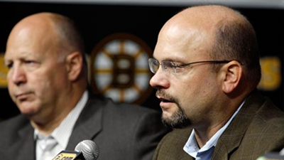 Peter Chiarelli Does What's Necessary to Keep Bruins' Core in Place