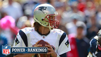 Week 8 NFL Power Rankings Have Patriots Third Among Five AFC Teams Leading Pack