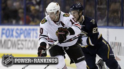 NHL Power Rankings Have Bruins Chasing Western Conference Central Division