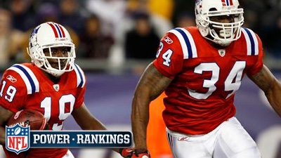 Patriots Take Over No. 1 Spot in NFL Week 9 Power Rankings, Remain Only One-Loss Team in League