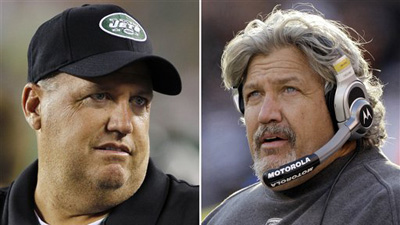 Eric Mangini Joins Rex and Rob Ryan Feud, Compares Rex to Macy's Parade Float