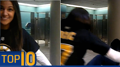 TD Garden Vandal Among Top 10 Most Ridiculous Fan Moments in Sports