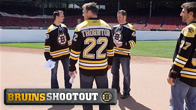 Shawn Thornton Has Baseball on His Mind Following Early 'Flurry' of Goals and Five Other Bruins Thoughts