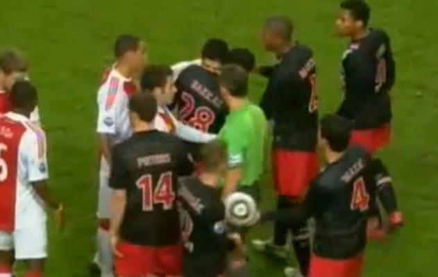 World Cup Villain Luis Suarez Channels Inner-Mike Tyson, Bites Opponent Otman Bakkal During Scuffle