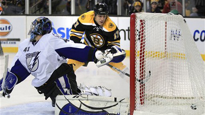 Bruins Use Goals From Seven Different Players, Trump Tampa Bay 8-1