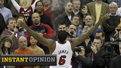 Cavalier Fans Gave LeBron James Exactly What He Was Looking for in Return to Cleveland