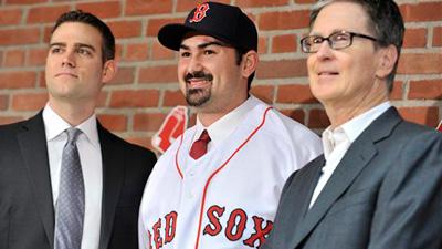 Adrian Gonzalez Needs Powerful Red Sox Nickname in Big Papi, Splendid Splinter Mold