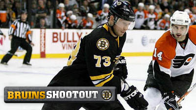 Michael Ryder Continues to Ring Post, Even in Practice, and Five Other Bruins Thoughts
