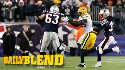 Dan Connolly Inspires Nation With Fat-Guy Scamper in Patriots-Packers Game