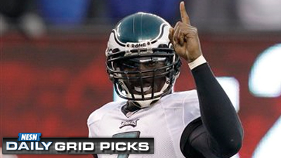 Michael Vick's Eagles Get Unanimous Support in Crucial Week for 'NESN Daily' Grid Picks