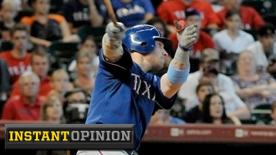 Naked Eye, Statistical Analyses See Josh Hamilton as Baseball's Best All-Around Player