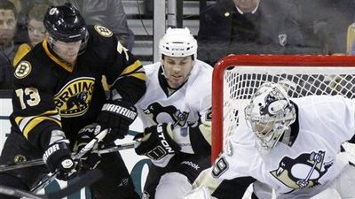 Marc-Andre Fleury Makes 44 Saves As Penguins End Bruins' Three-Game Win Streak