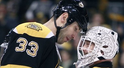 Zdeno Chara, Tim Thomas Help Bruins Finish Successful Homestand With 7-0 Rout of Hurricanes