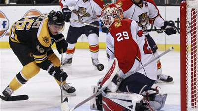 David Krejci Survives Scare, Avoids Serious Injury on Awkward Fall Into Boards