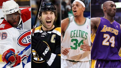 Rivalries Blossoming in Boston With Canadiens, Lakers Both Heading to TD Garden