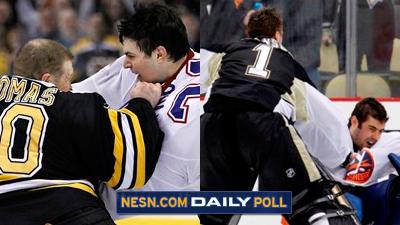 Vote: Which Goalie Fight Was Better: Tim Thomas-Carey Price or Brent Johnson-Rick DiPietro?