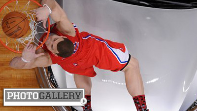 Blake Griffin Leaps Over Car, Celtics Duo Comes Up Short at NBA All-Star Saturday Night (Photos)