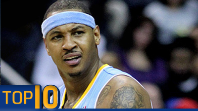 Carmelo Anthony, LeBron James, Home-Court Advantage in East All Featured in Top 10 NBA Storylines of Second Half
