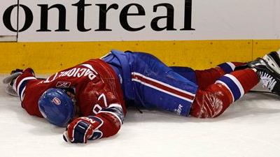 Report: Max Pacioretty Suffers 'Severe Concussion,' Fractured Vertebrae From Hit by Zdeno Chara