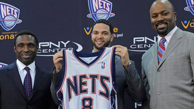 Celtics Get First Look at Deron Williams in New Role With New Jersey Nets