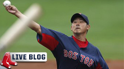 Red Sox Live Blog: Daisuke Matsuzaka Solid in 2-1 Win Over Tigers