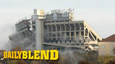 TCU Celebrates Rose Bowl Berth by Blowing Up Half of Home Stadium