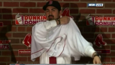 Adrian Gonzalez, Terry Francona to Appear on Monday Night's One-Hour 'Red Sox Hot Stove Live'