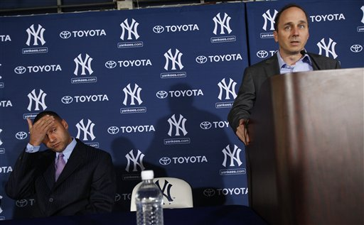 Derek Jeter, Brian Cashman Share Awkward Moments As New Deal Announced for Yankees Icon