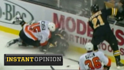NHL Finally Gets It Right With Two-Game Suspension of Jody Shelley for Hit on Adam McQuaid
