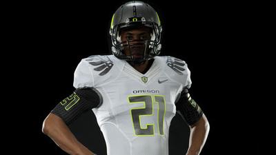 Oregon Unveils White on White Nike BCS Championship Uniform