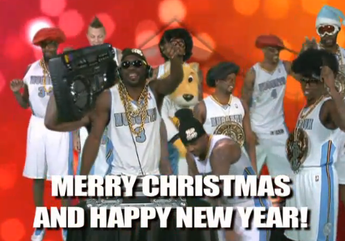 Carmelo Anthony, Denver Nuggets Wish Fans Merry Christmas in Run DMC Cover Video