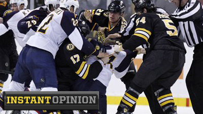 Colin Campbell's Absence No Coincidence As NHL Makes Common-Sense Decision on Milan Lucic for Punch of Freddy Meyer