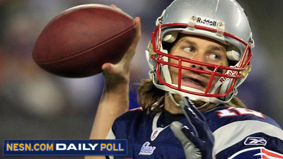 Vote: How Much Should Tom Brady Play on Sunday Against Dolphins?