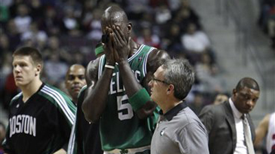 Improved Frontcourt, Deeper Bench Will Help Celtics If Kevin Garnett Misses More Time Than Expected